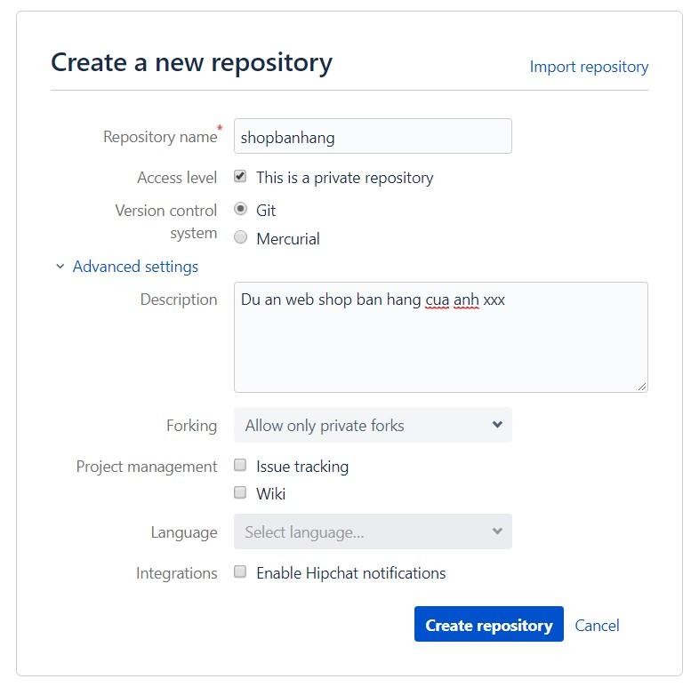 Hướng dẫn cách sử dụng Bitbucket image 7