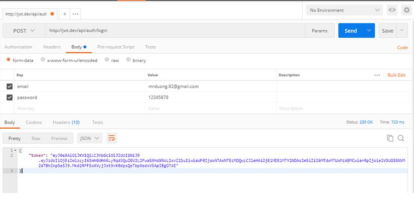 API Authentication sử dụng JWT trong Laravel image 2