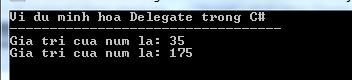 Delegate trong C#