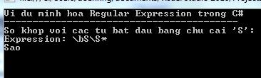 Regurlar Expression trong C#
