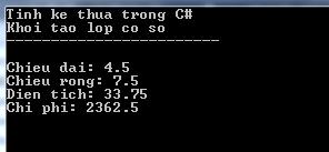 Tính kế thừa trong C#