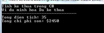 Đa kế thừa trong C#