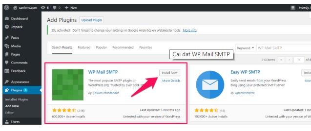 Cấu hình WordPress để gửi Mail với SendGrid image 1