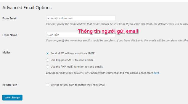 Cấu hình WordPress để gửi Mail với SendGrid image 3