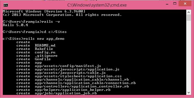 Hướng dẫn cài đặt Ruby on rails image 96