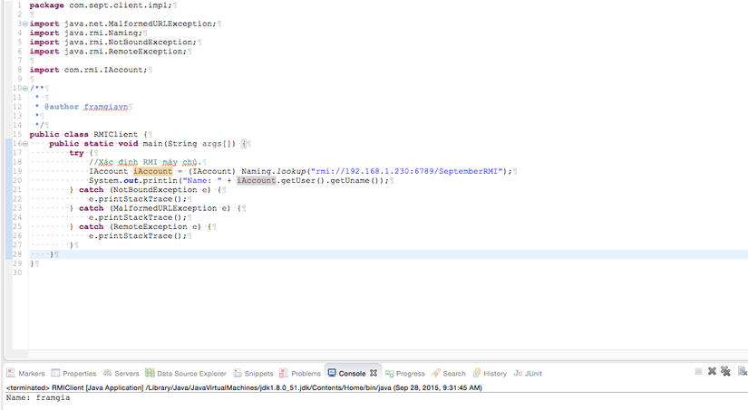 Java RMI(Remote Method Invocation) image 2