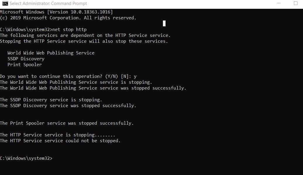 Khắc phục lỗi Xampp không start được apache trên windows image 3