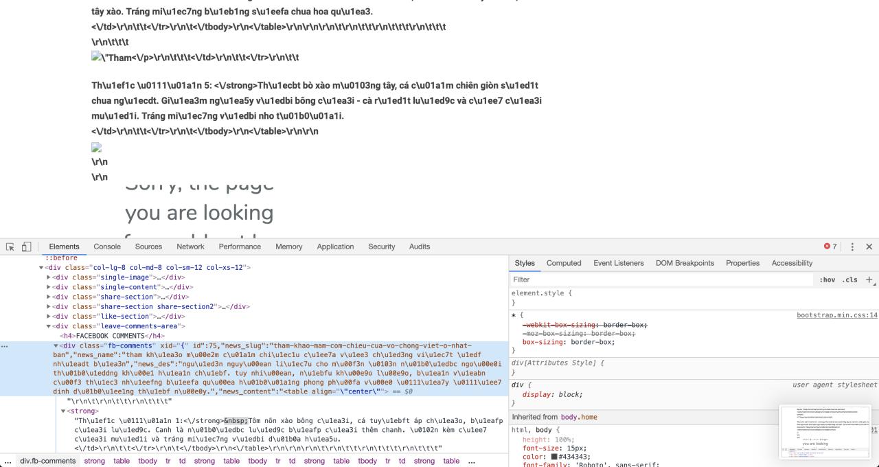 Lỗi bài viết xuất hiện 1 đống thứ lạ lạ như json khi copy nội dung từ website khác về image 2