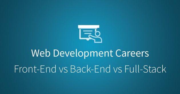 Phân biệt giữa Front End, Back End và Full Stack image 1